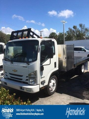 2018 LCF 4500 Regular Cab 4x2,  Knapheide Platform Body #M809295 - photo 1