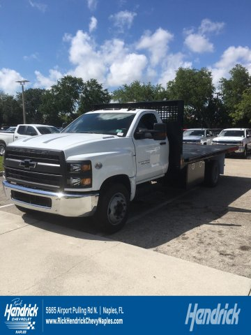 2019 Silverado Medium Duty DRW 4x2,  CM Truck Beds Platform Body #M827593 - photo 1