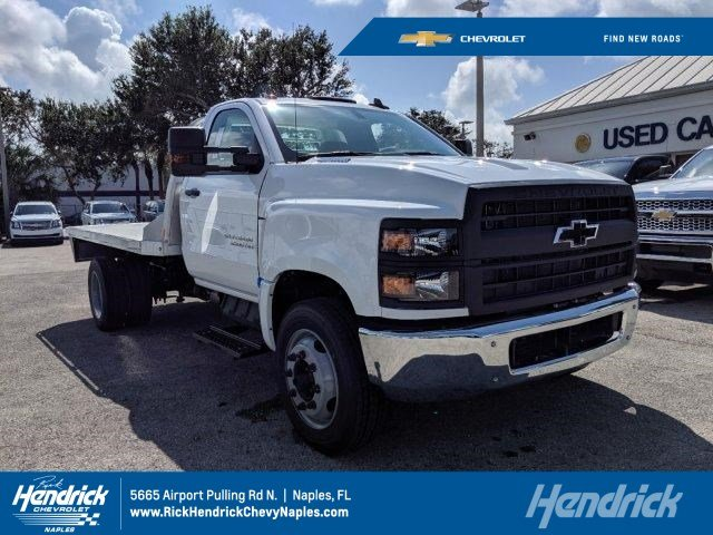 2019 Silverado Medium Duty Regular Cab DRW 4x2, Hauler Body #M863435 - photo 1