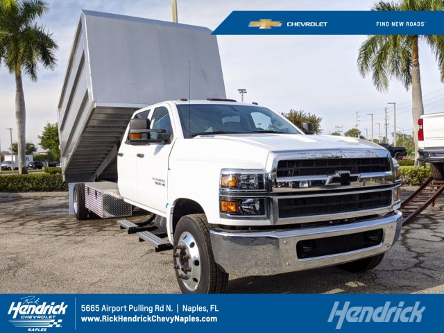 2019 Silverado Medium Duty Crew Cab DRW 4x2,  MC Ventures Chipper Body #M885304 - photo 1