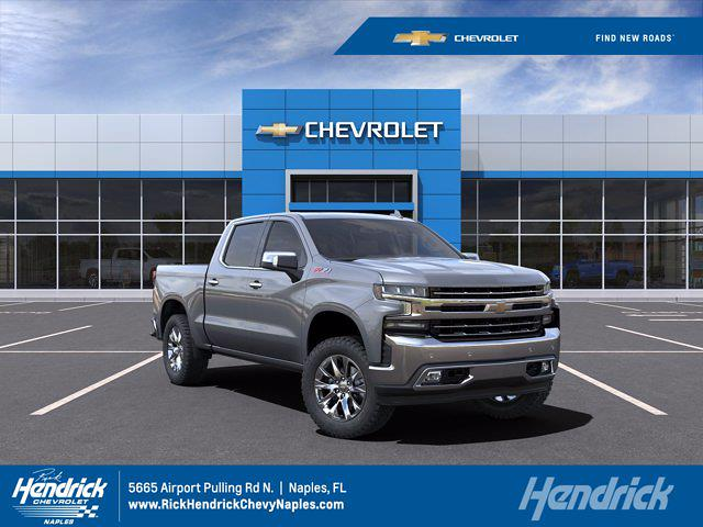 2021 Chevrolet Silverado 1500 Crew Cab 4x4, Pickup #M91111 - photo 1