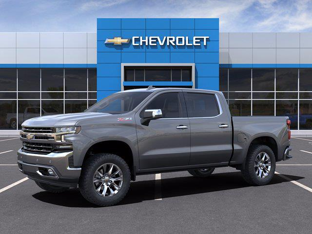 2021 Chevrolet Silverado 1500 Crew Cab 4x4, Pickup #M91111 - photo 3