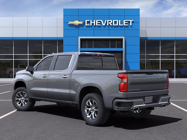 2021 Chevrolet Silverado 1500 Crew Cab 4x4, Pickup #M91111 - photo 4