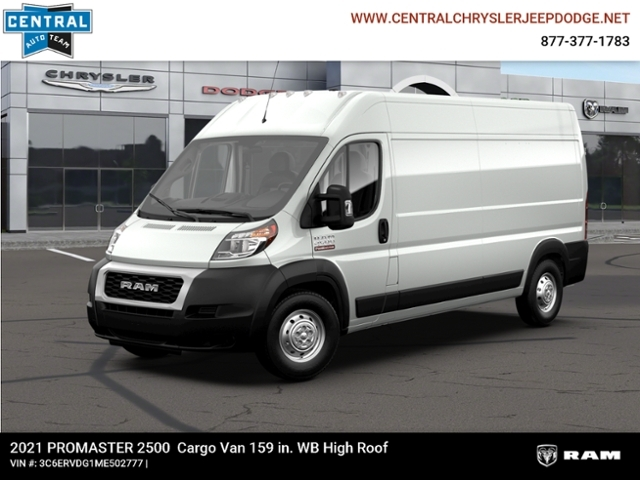2021 Ram ProMaster 2500 High Roof FWD, Empty Cargo Van #M210231 - photo 1