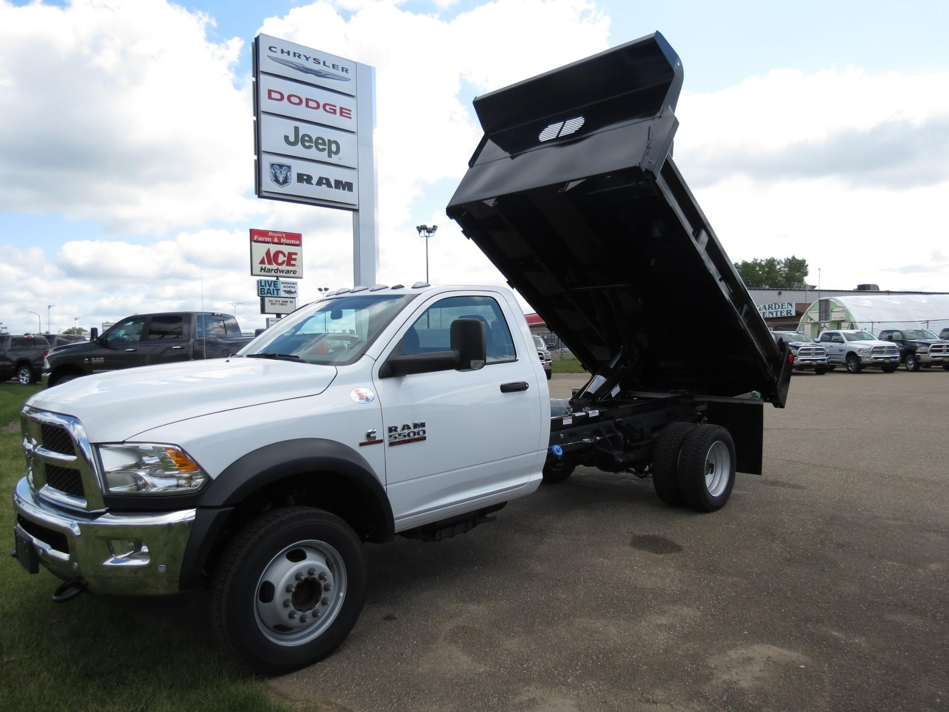 2018 Ram 5500 Regular Cab DRW 4x4,  Rugby Dump Body #18-962 - photo 1