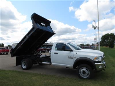 2018 Ram 5500 Regular Cab DRW 4x4,  Rugby Eliminator LP Steel Dump Body #18-962 - photo 2
