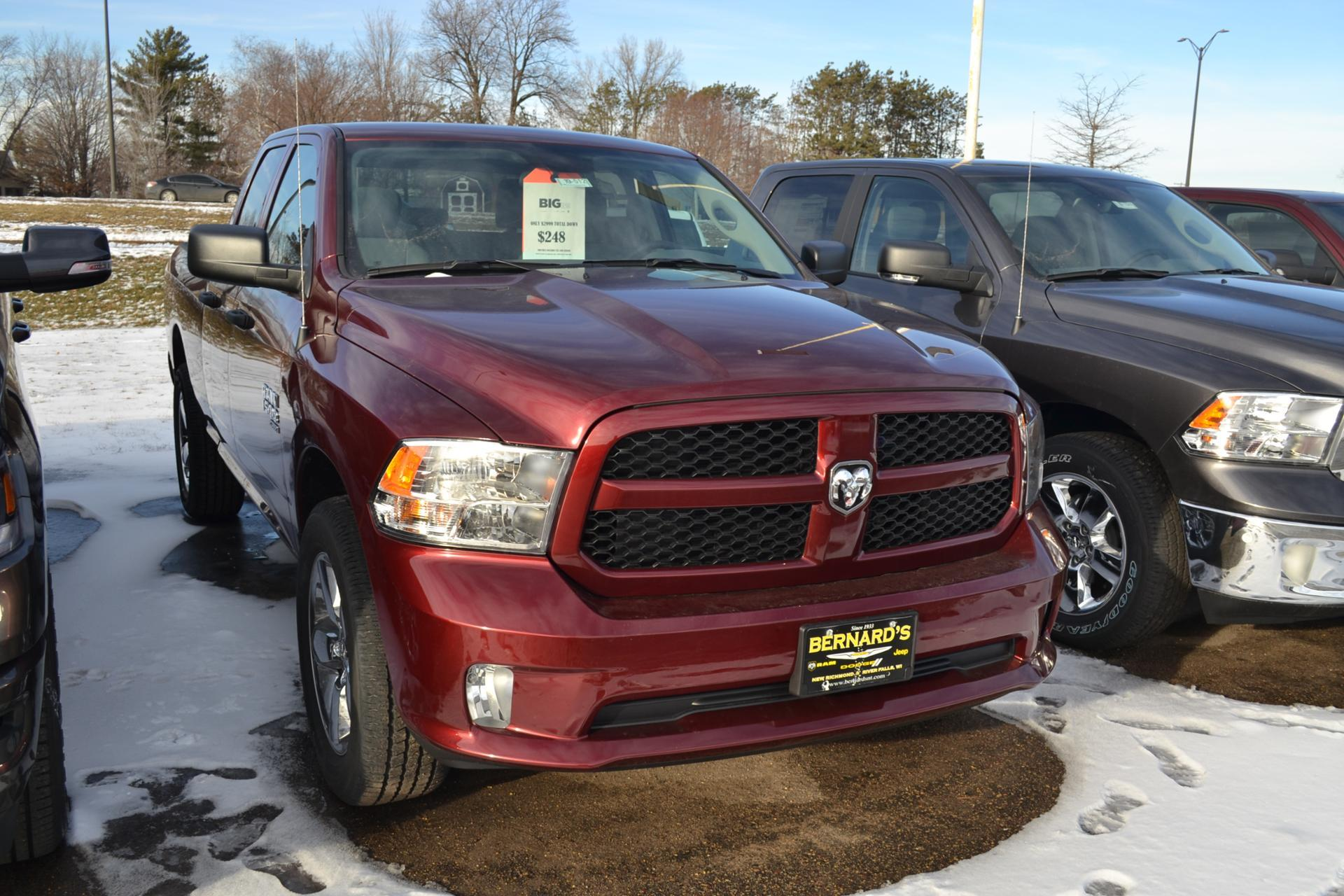 2019 Ram 1500 Quad Cab 4x4,  Pickup #19-512 - photo 3