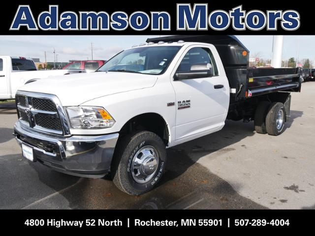 2018 Ram 3500 Regular Cab DRW 4x4,  Monroe Dump Body #8220150 - photo 1