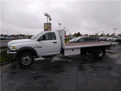 2017 Ram 5500 Regular Cab DRW 4x4, Harbor Black Boss Flatbed Platform Body #00017145 - photo 1