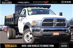 2018 Ram 5500 Regular Cab DRW 4x4,  Rugby Dump Body #00018276 - photo 1