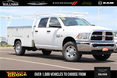 2018 Ram 3500 Crew Cab 4x2,  Harbor TradeMaster Service Body #00018277 - photo 1