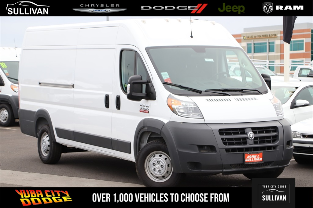 2018 ProMaster 3500 High Roof FWD,  Empty Cargo Van #00018357 - photo 1