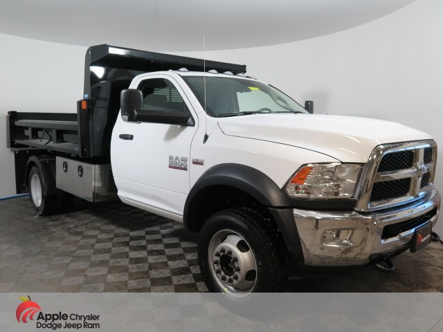 2018 Ram 5500 Regular Cab DRW 4x4,  Rugby Dump Body #D3286 - photo 3