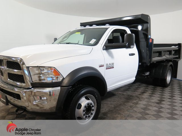 2018 Ram 5500 Regular Cab DRW 4x4,  Rugby Dump Body #D3286 - photo 1