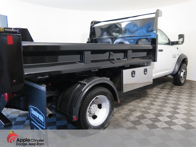 2018 Ram 5500 Regular Cab DRW 4x4,  Rugby Dump Body #D3286 - photo 6