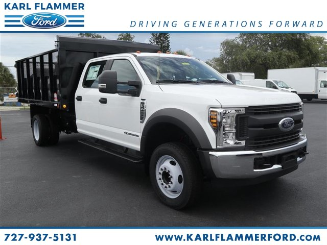 2018 F-450 Crew Cab DRW 4x2,  Stake Bed #8W4G8896 - photo 1