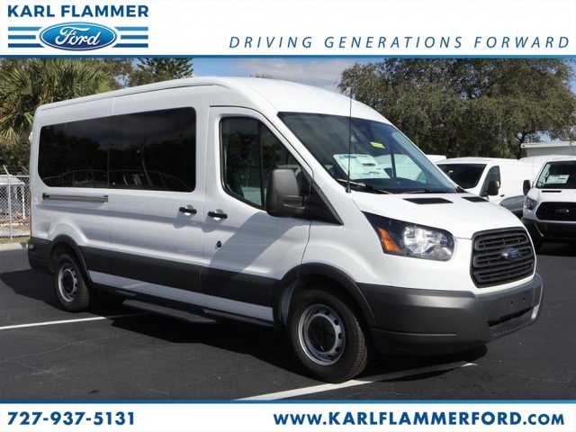 2018 Transit 350 Med Roof 4x2,  Passenger Wagon #8X2C9708 - photo 1