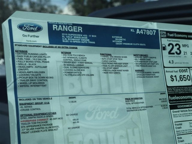 2019 Ranger SuperCrew Cab 4x2,  Pickup #9R4E7807 - photo 15