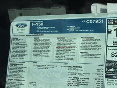2019 F-150 SuperCrew Cab 4x4,  Pickup #9W1E7951 - photo 15
