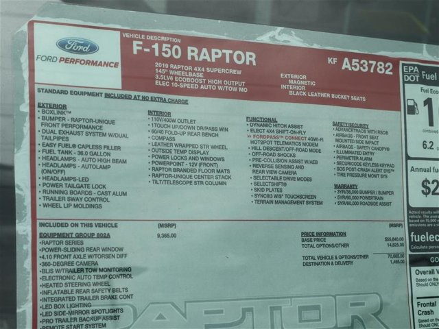 2019 F-150 SuperCrew Cab 4x4,  Pickup #9W1R3782 - photo 15