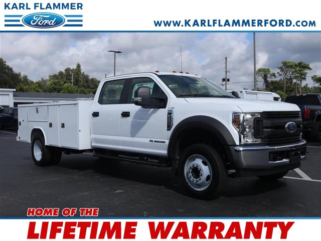 2019 F-450 Crew Cab DRW 4x2, Reading Service Body #9W4G2961 - photo 1