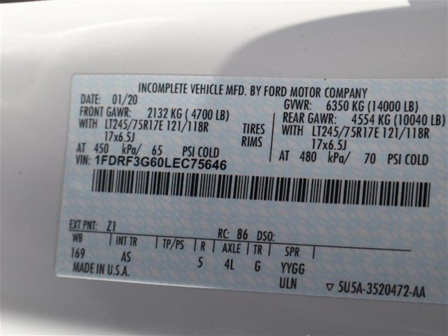 2020 F-350 Regular Cab DRW 4x2, Knapheide Value-Master X Platform Body #AF3G5646 - photo 15