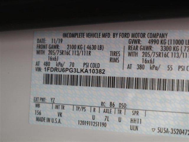 2020 Transit 350 HD DRW RWD, Rockport Cutaway Van #AU6P0382 - photo 15