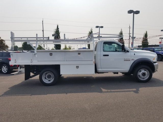 2017 Ram 5500 Regular Cab DRW 4x4,  Harbor Contractor Body #077801 - photo 3