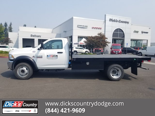 2017 Ram 4500 Regular Cab DRW 4x4,  Harbor Platform Body #077803 - photo 1