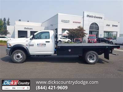 2017 Ram 4500 Regular Cab DRW 4x4,  Harbor Black Boss Platform Body #077803 - photo 1