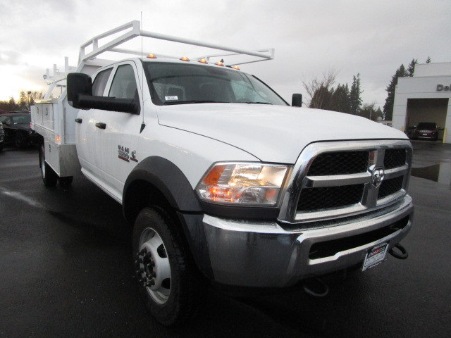 2018 Ram 5500 Crew Cab DRW 4x4, Contractor Body #087122T - photo 6