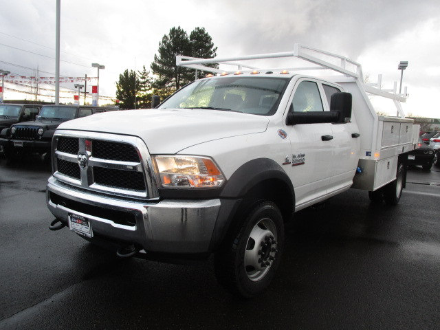 2018 Ram 5500 Crew Cab DRW 4x4, Contractor Body #087122T - photo 8
