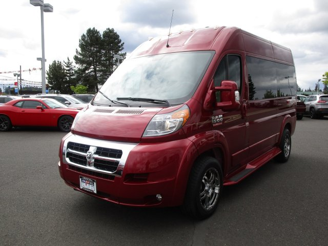 2018 ProMaster 1500 High Roof FWD,  Passenger Wagon #087264 - photo 4