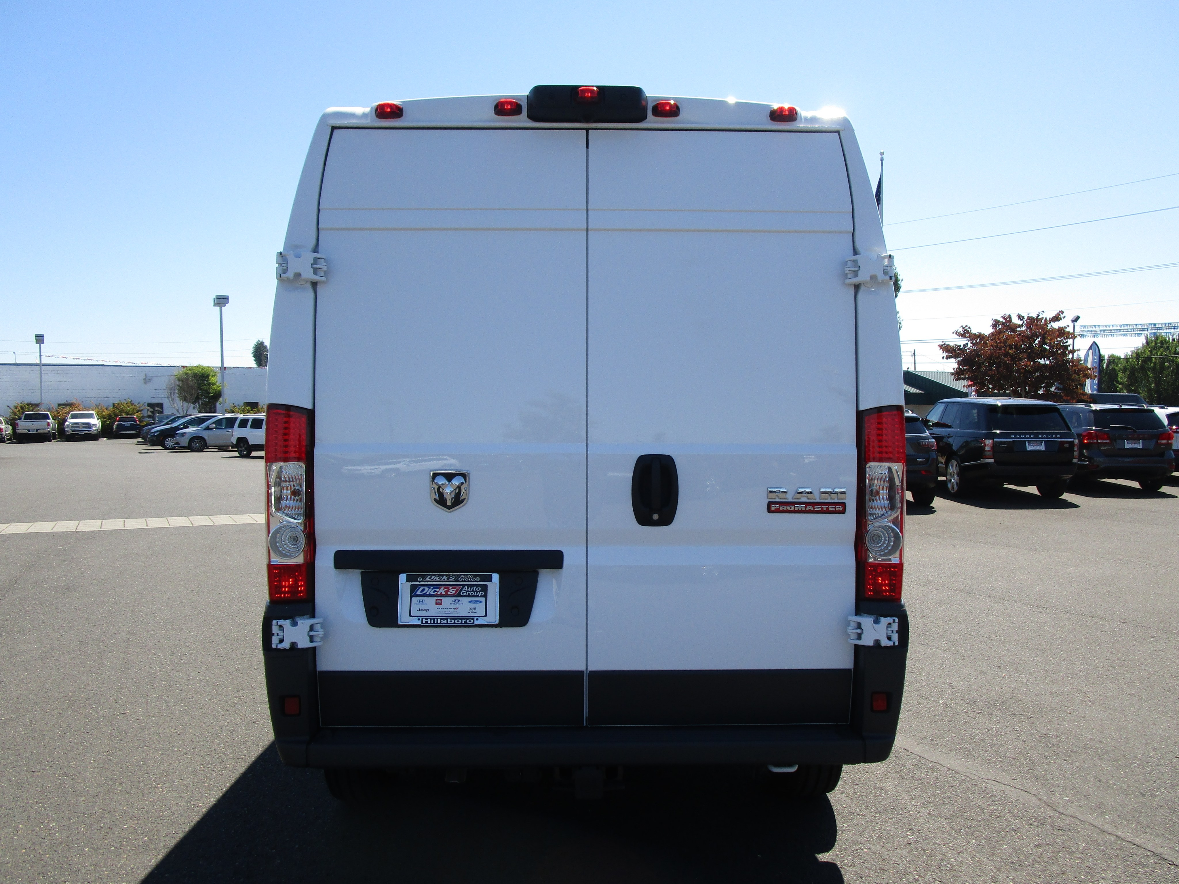2018 ProMaster 2500 High Roof FWD,  Empty Cargo Van #087319 - photo 7