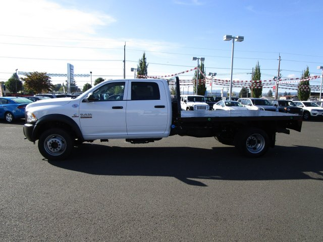 2018 Ram 4500 Crew Cab DRW 4x4,  Platform Body #087364T - photo 5