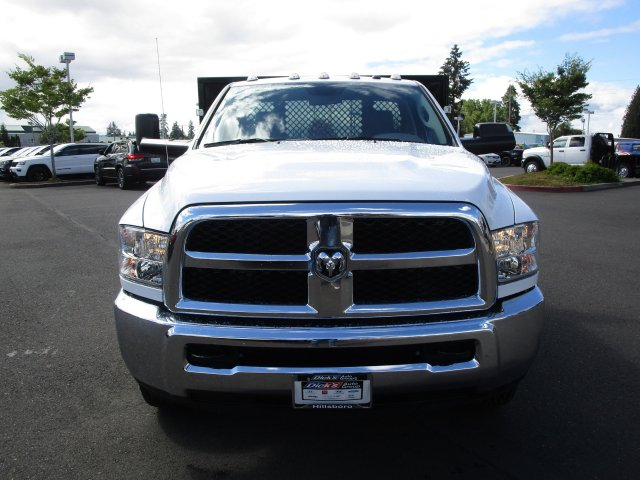 2018 Ram 3500 Regular Cab DRW 4x4,  Harbor Platform Body #087392 - photo 3