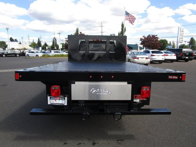 2018 Ram 3500 Regular Cab DRW 4x4,  Harbor Platform Body #087392 - photo 5