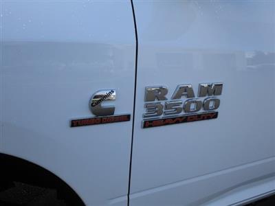 2018 Ram 3500 Regular Cab DRW 4x4,  Harbor Black Boss Platform Body #087392 - photo 9