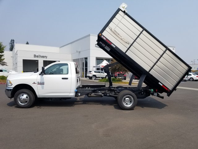 2018 Ram 3500 Regular Cab DRW 4x2,  The Fab Shop Landscape Dump #087425 - photo 3