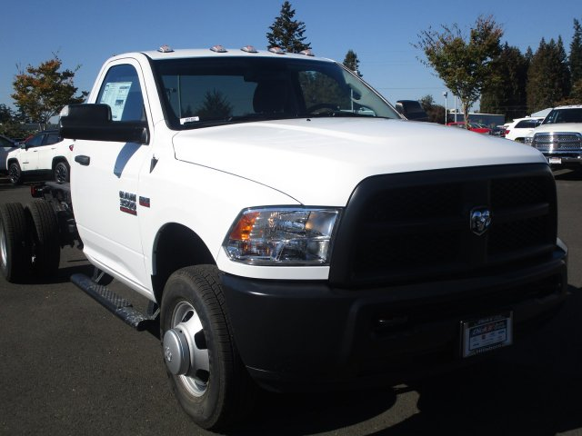 2018 Ram 3500 Regular Cab DRW 4x2,  Cab Chassis #087482 - photo 2