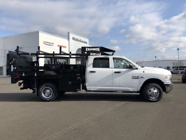 2018 Ram 3500 Crew Cab DRW 4x4,  Knapheide Contractor Body #087594 - photo 2