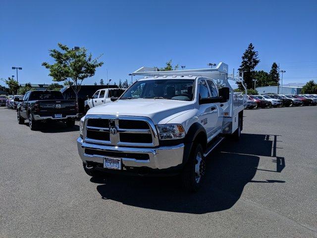 2018 Ram 5500 Crew Cab DRW 4x4,  Knapheide Contractor Body #087646 - photo 6
