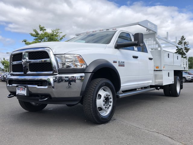 2018 Ram 5500 Crew Cab DRW 4x4,  Knapheide Contractor Body #087646 - photo 5