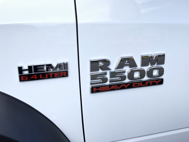 2018 Ram 5500 Crew Cab DRW 4x4,  Knapheide Contractor Body #087646 - photo 12