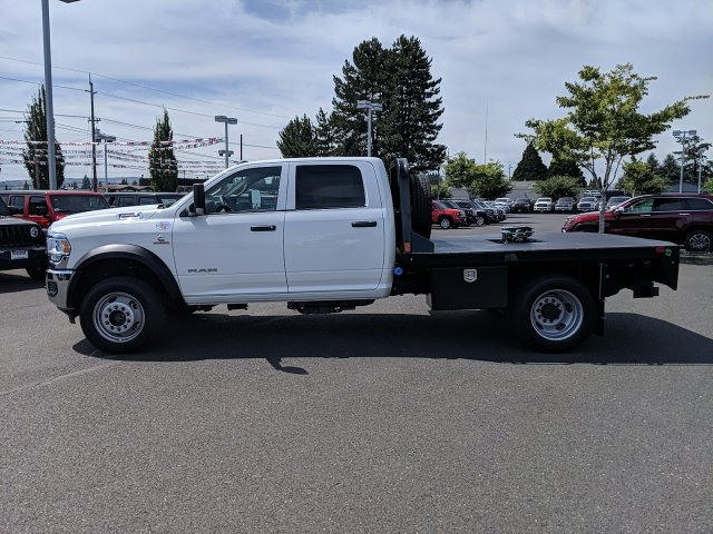 2019 Ram 5500 Crew Cab DRW 4x2, CM Truck Beds RD Model Platform Body #097268 - photo 4
