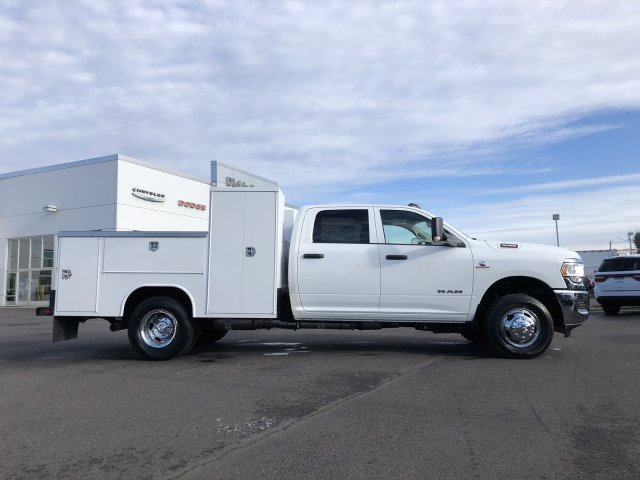 2019 Ram 3500 Crew Cab DRW 4x4, Harbor TradeMaster Service Body #097460 - photo 2