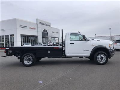 2019 Ram 5500 Regular Cab DRW 4x4, Harbor Black Boss Platform Body #097521 - photo 2