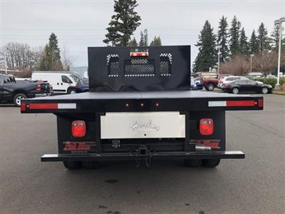 2019 Ram 5500 Regular Cab DRW 4x4, Harbor Black Boss Platform Body #097521 - photo 6
