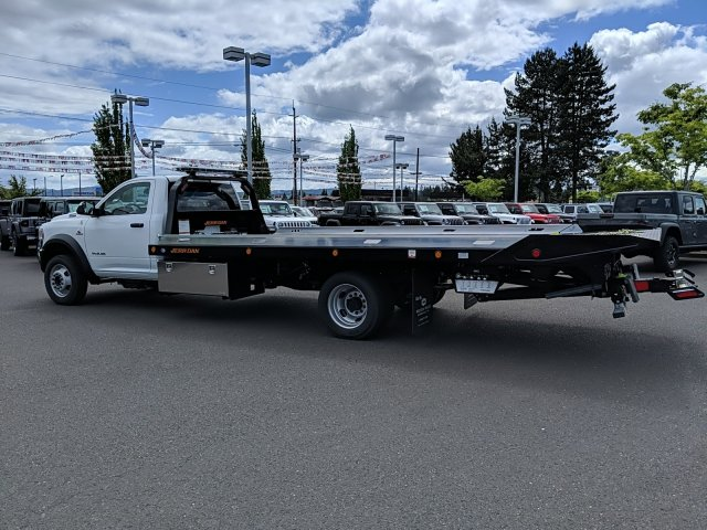 2019 Ram 5500 Regular Cab DRW 4x2, Jerr-Dan Standard Duty Carriers Rollback Body #097551T - photo 2