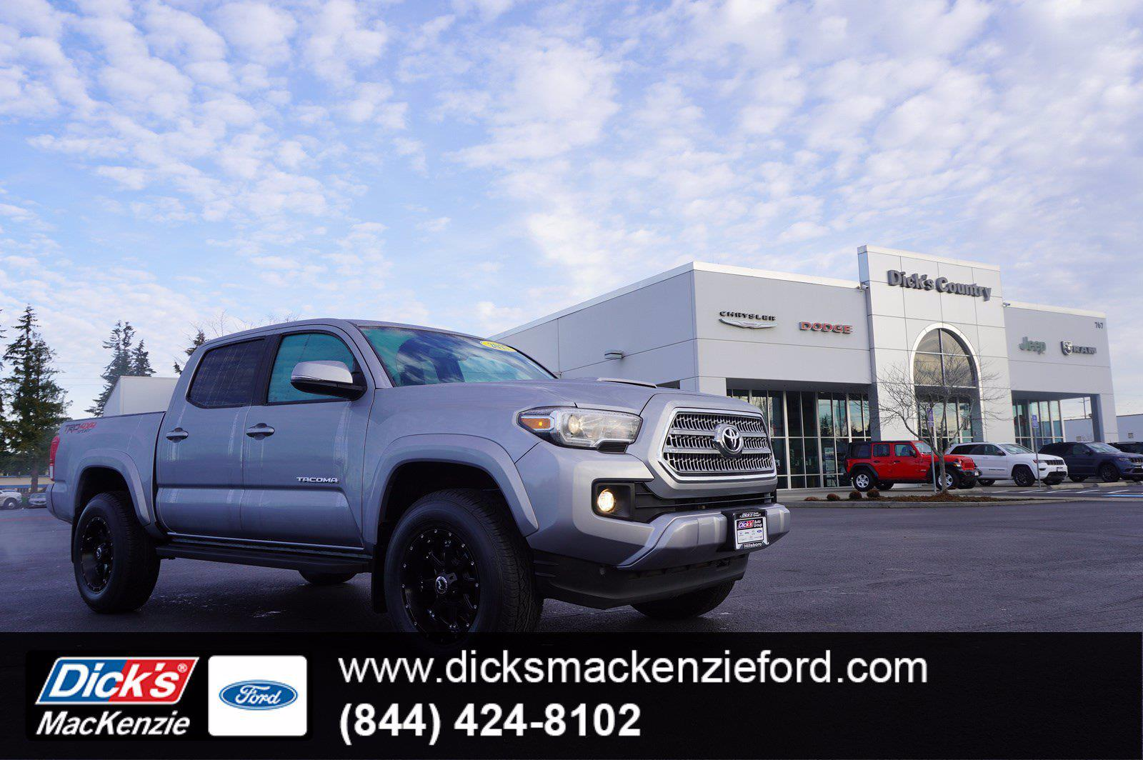 2017 Toyota Tacoma Double Cab 4x4, Pickup #P13996 - photo 1